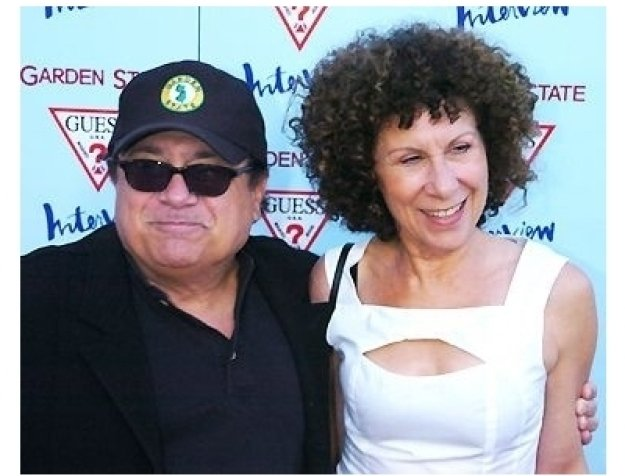 "Danny DeVito and Rhea Perlman at the ""Garden State"" Premiere"