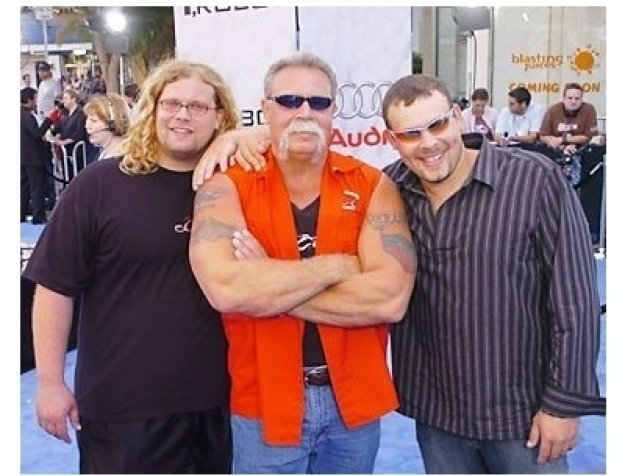 "Mike Teutul, Paul Teutul Sr. and Paul Teutul Jr. at the ""I, Robot"" Premiere"
