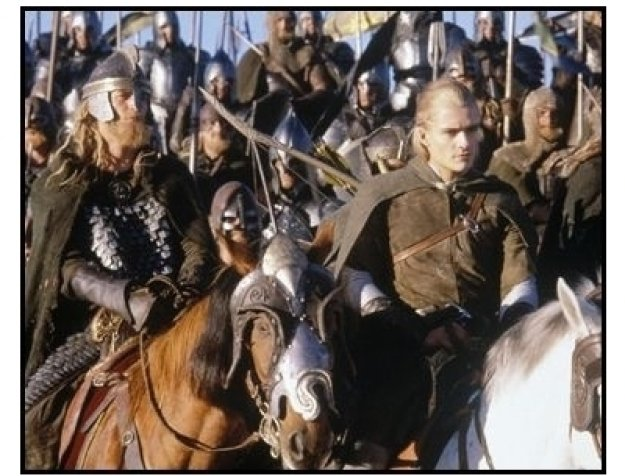 """The Lord of the Rings: The Return of the King"" Movie Still: Orlando Bloom"
