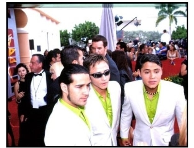 Los Tri-O at the 2001 Billboard Latin Music Awards