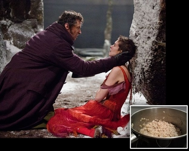 What Did Anne Hathaway Eat for 'Les Miserables'?