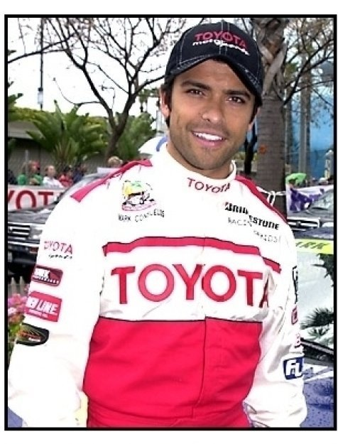 Mark Consuelos at the 25th Annual Toyota Pro/Celebrity Race