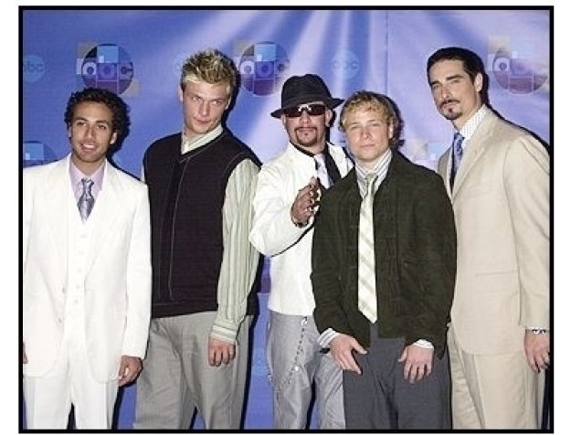"The Backstreet Boys at the ABC Television Network Special,  ""Motown 45"""