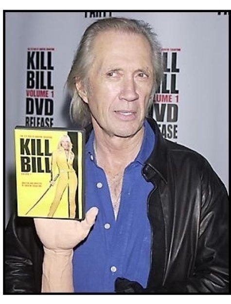 """David Carradine at the """"Kill Bill Vol. 1"""" DVD Release Party"""