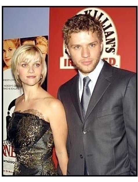 Reese Witherspoon and Ryan Phillippe at The Importance of Being Earnest premiere