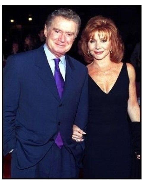 Regis and Joy Philbin at the Barbra Streisand concert