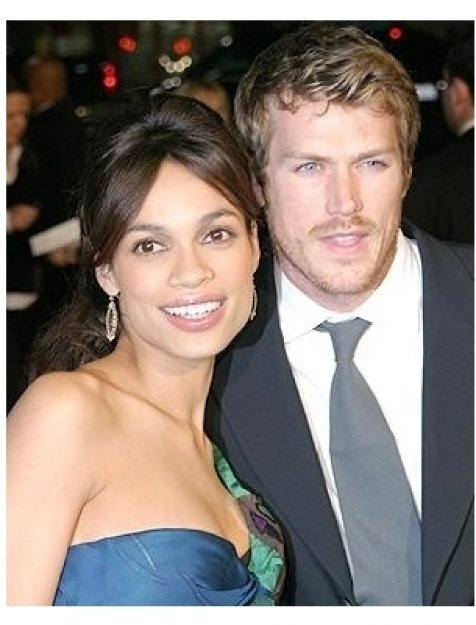 Sin City Premiere: Rosario Dawson and Jason Lewis
