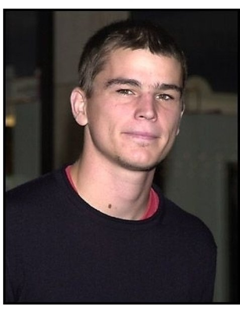 Josh Hartnett at the O Othello premiere