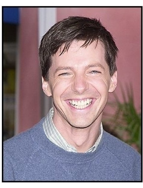 """Sean Hayes at the """"Dr. Seuss' Cat in the Hat"""" premiere"""