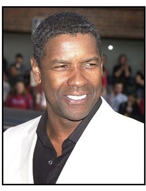 "Denzel Washington  at the ""Man on Fire"" Premiere"