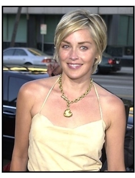 Sharon Stone at the A.I. Artificial Intelligence premiere