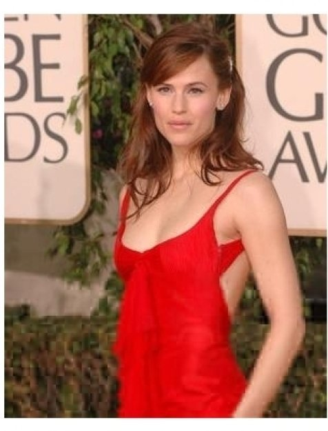 Jennifer Garner on the red carpet at the 62nd Golden Globe Awards