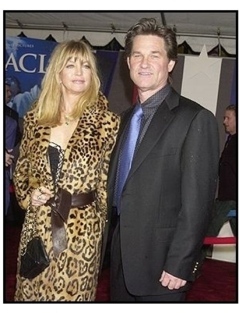 """Kurt Russell and Goldie Hawn at the """"Miracle"""" premiere"""
