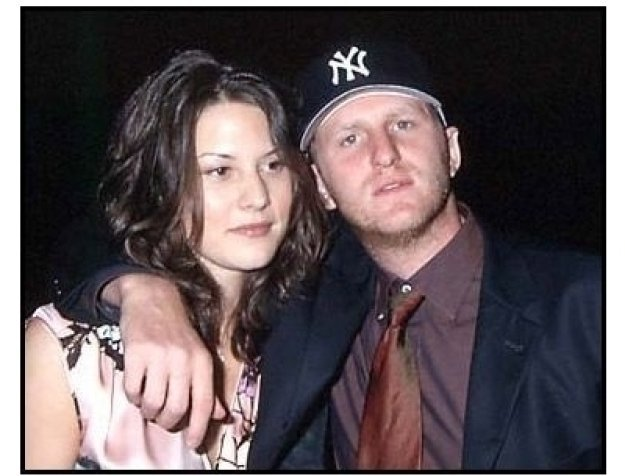 Michael Rapaport and wife at the Lucky Numbers premiere
