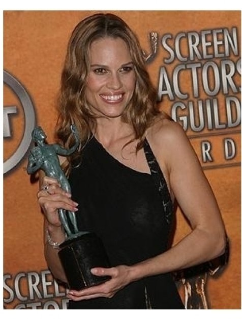 11th Annual SAG Awards: Hilary Swank