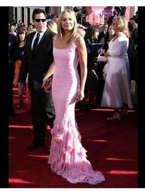 Kim Catrall on the Red Carpet at 2004 Primetime Emmy Awards