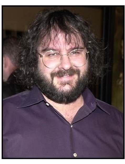 Peter Jackson at the The Lord of the Rings: The Fellowship of the Ring premiere