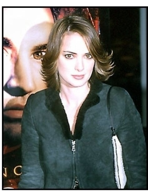 Winona Ryder at the Lost Souls premiere