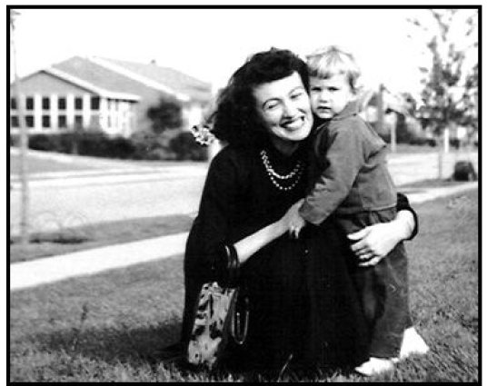 Into the Arms of Strangers: Stories of the Kindertransport movie still: Sylva  and Deborah Oppenheimer