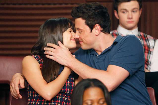 Rachel and Finn, Glee
