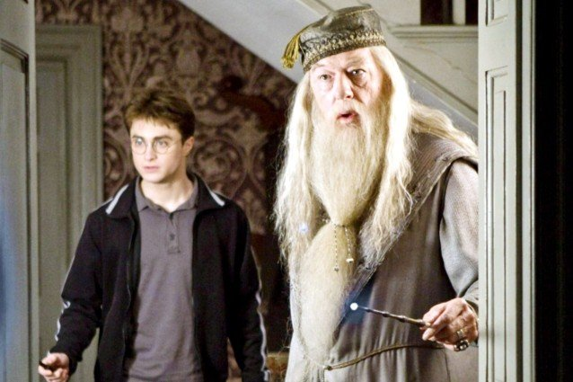 Michael Gambon, Harry Potter