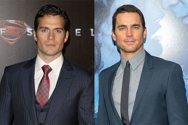 Henry Cavill and Matt Bomer
