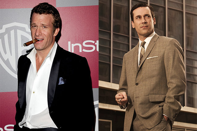 Thomas Jane and Jon Hamm, Mad Men