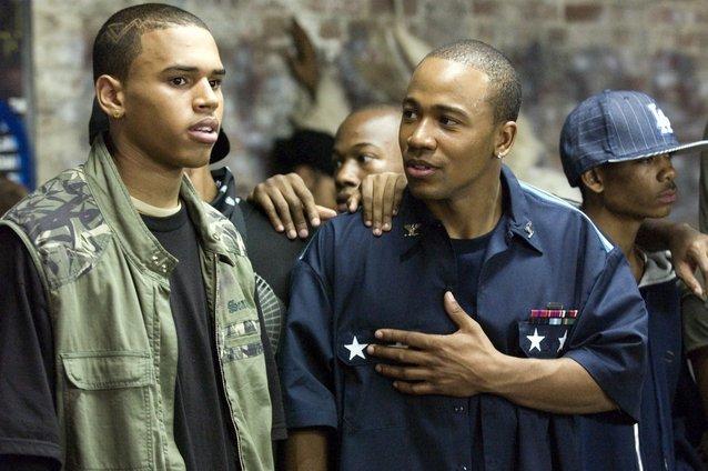 STOMP THE YARD, Chris Brown, Columbus Short